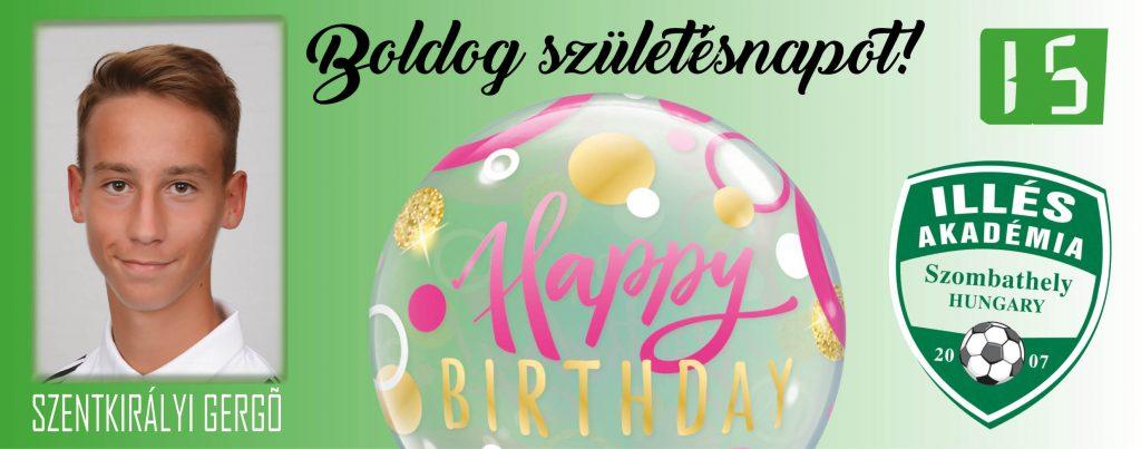Boldog születésnapot, Gergő!