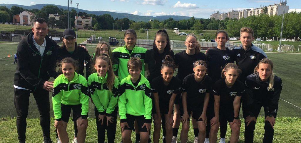 U14-es lányaink vereséggel zárták a szezont