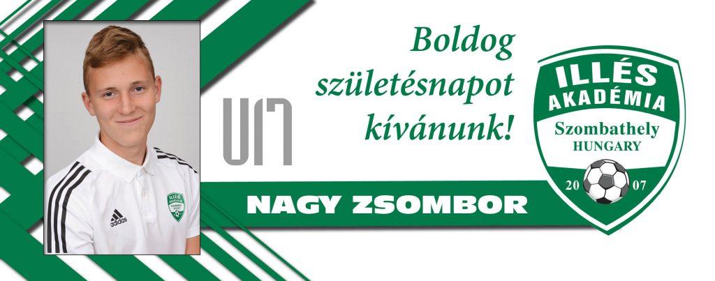 Boldog születésnapot, Zsombor!