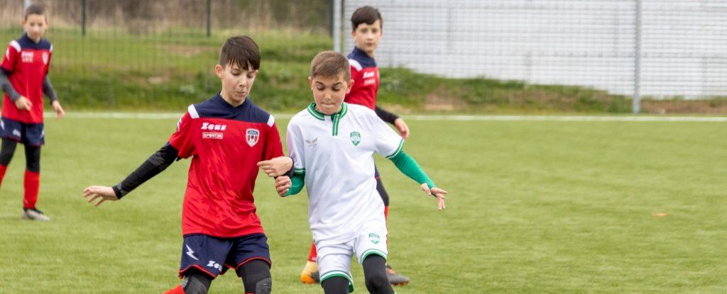 Nagypályán játszott az Illés Akadémia U13
