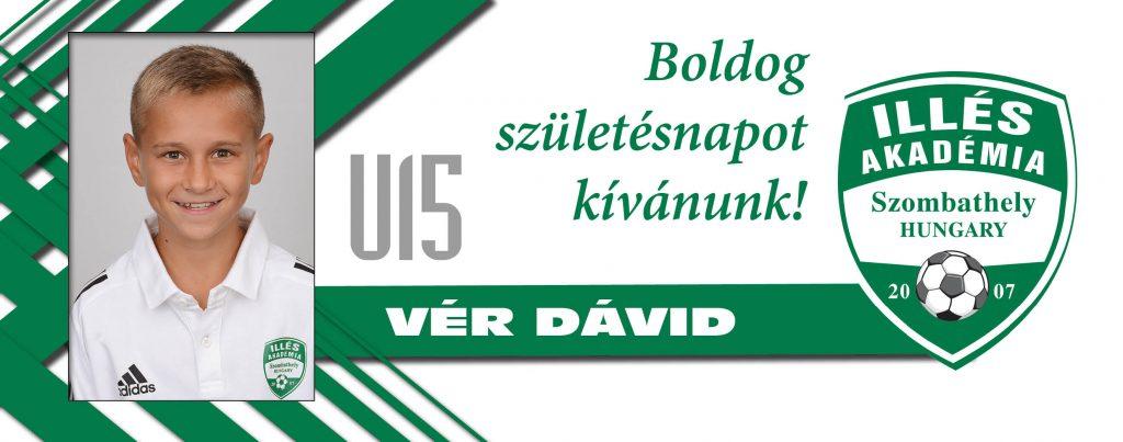 Boldog szülinapot, Dávid!