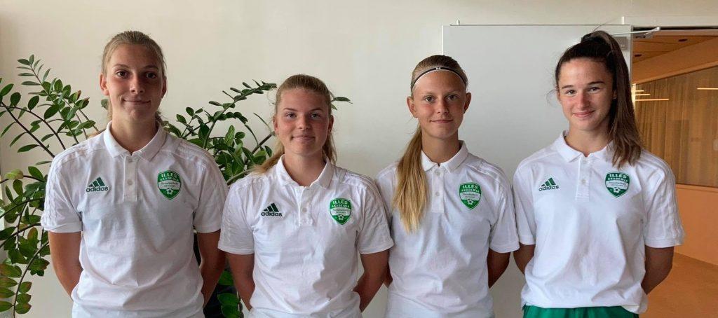 Négy akadémistánk vett részt a női U17-es válogatott összetartásán