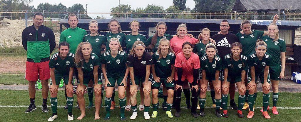 Idegenbeli győzelemmel kezdte a bajnokságot női U19-es csapatunk