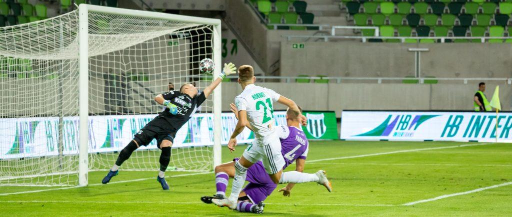 Horváth Rajmund kezdett és gólt szerzett!
