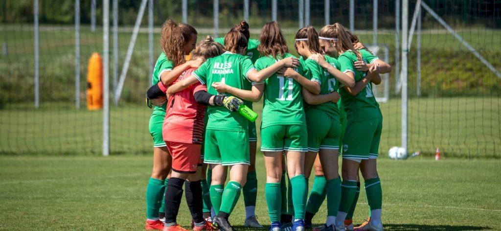 Rajtra kész női U19-es csapatunk