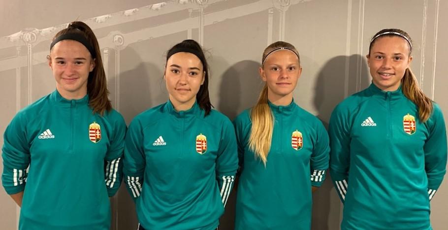 Négy lányunk vett részt az U17-es válogatott felkészülésén