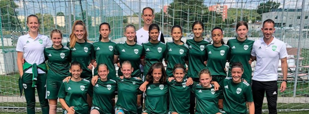 Alasz Hanna mesterhármasával győzött leány U15-ös csapatunk