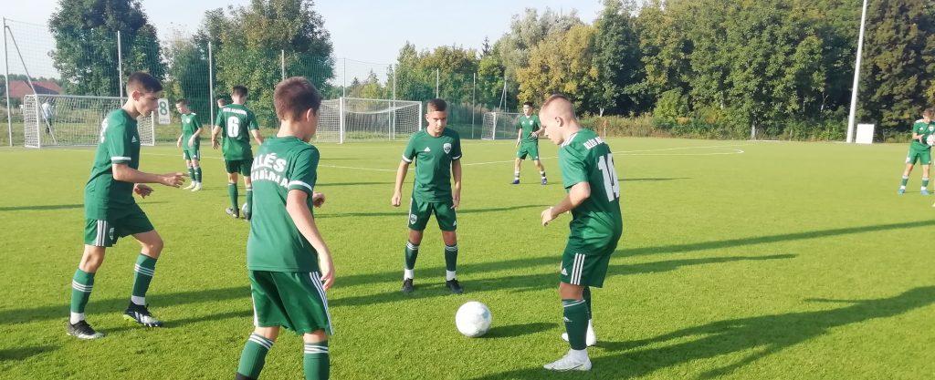 Három góllal nyert az Illés Akadémia U15