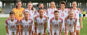 Négy akadémistánk játszott a női U19-es válogatottban