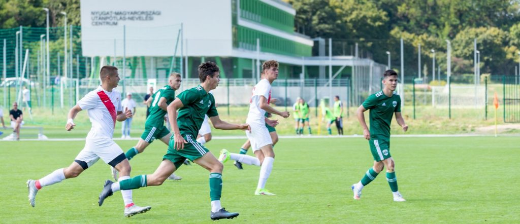 Bajnoki meccsek U9-től U19-ig