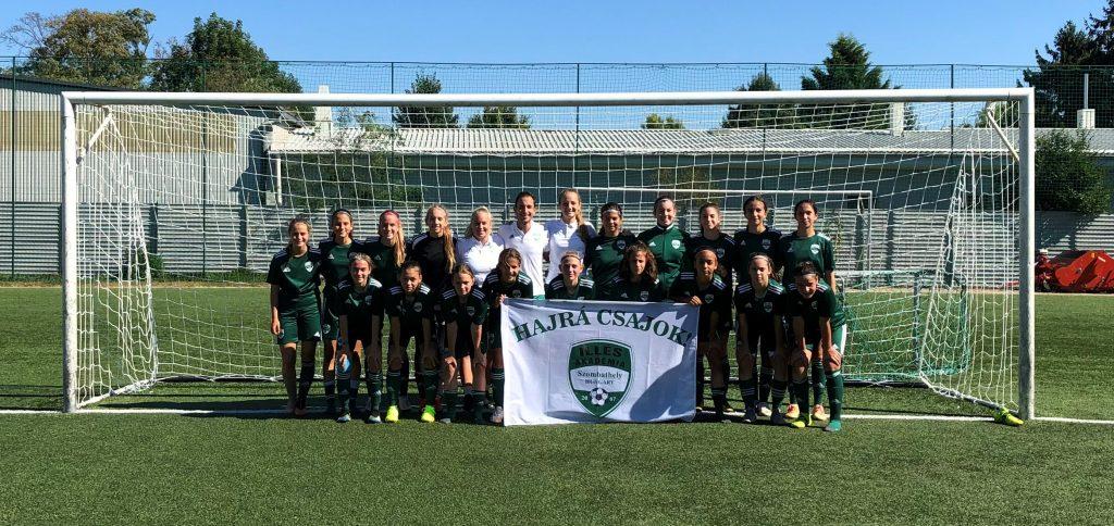 Gólzáporos győzelmet arattak az U15-ös lányok is