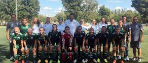 Fölényes győzelmet aratott Budapesten leány U19-es csapatunk
