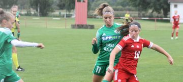 A női U17-es válogatottal játszott Bükön a Haladás-Viktória vegyescsapata