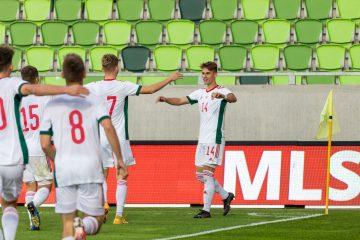Szijjártó Ármin gólt szerzett a válogatottban