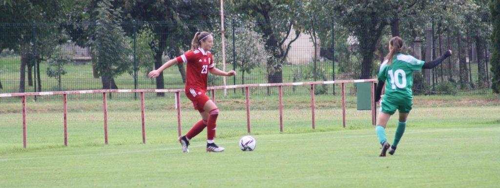 Németh Adél lépett pályára az U17-es válogatott norvégiai Eb-selejtezőjén