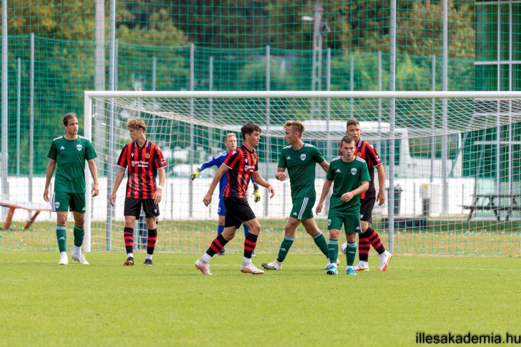 A Fradi veretlenségét elvette az Illés Akadémia U19