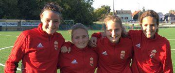 Négy fiatalunk edzett az Észak-nyugati régió válogatottjával