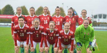 Jól játszott, de vereséget szenvedett az U19-es női válogatott