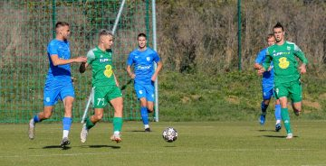 Nemzetközi meccs az akadémia pályáján